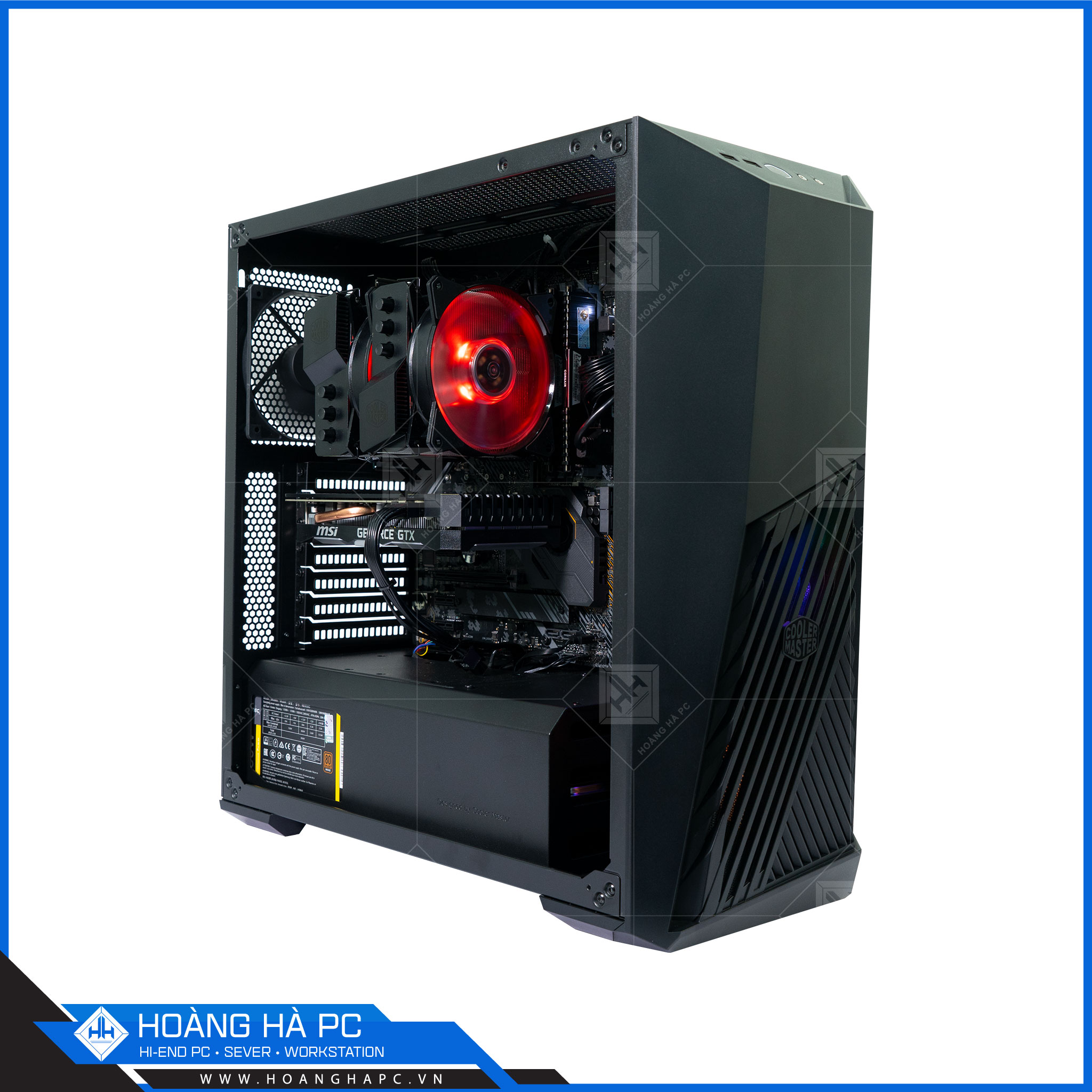 HH WORKSTATION CORE i9 10850K | 16GB | NVIDIA RTX 2070 8GB