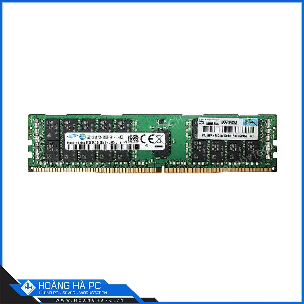 Ram Samsung 32G/2400 ECC REGISTERED