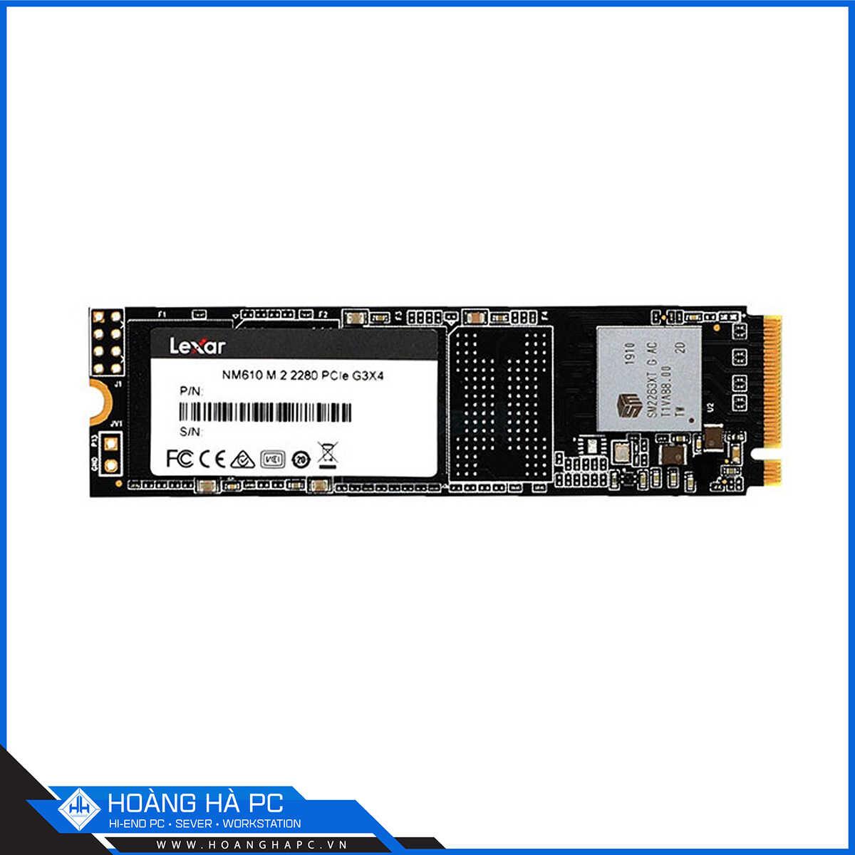 SSD Lexar NM610 500GB