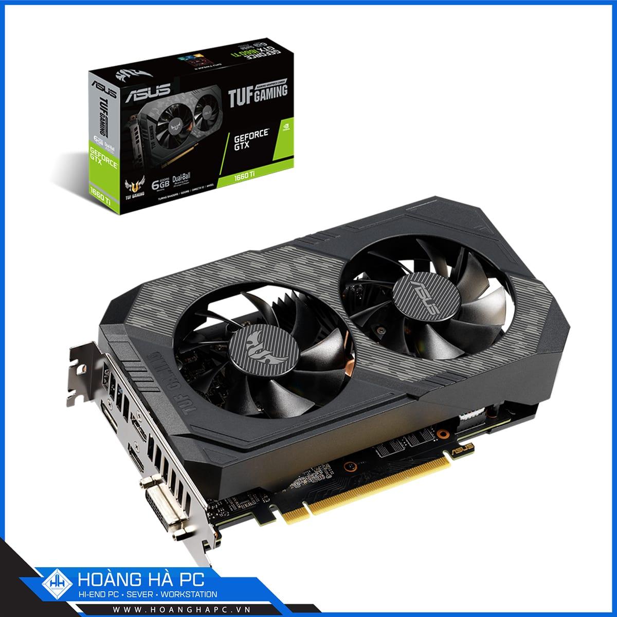 VGA Asus GeForce GTX 1660Ti 6GB TUF