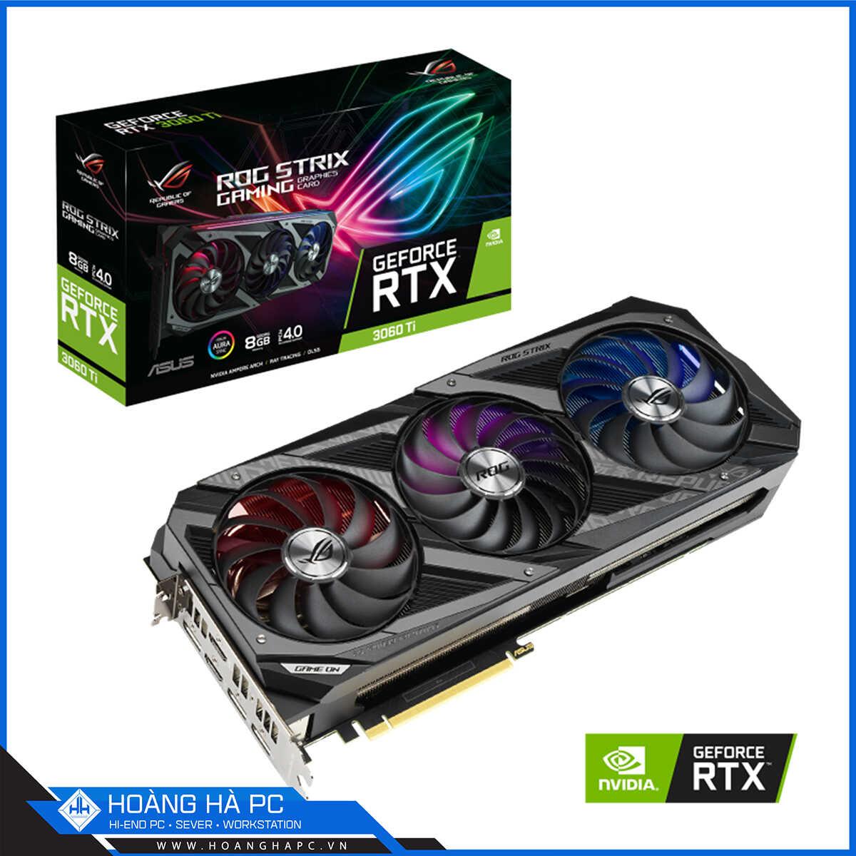 ASUS ROG STRIX RTX 3060 Ti 8GB
