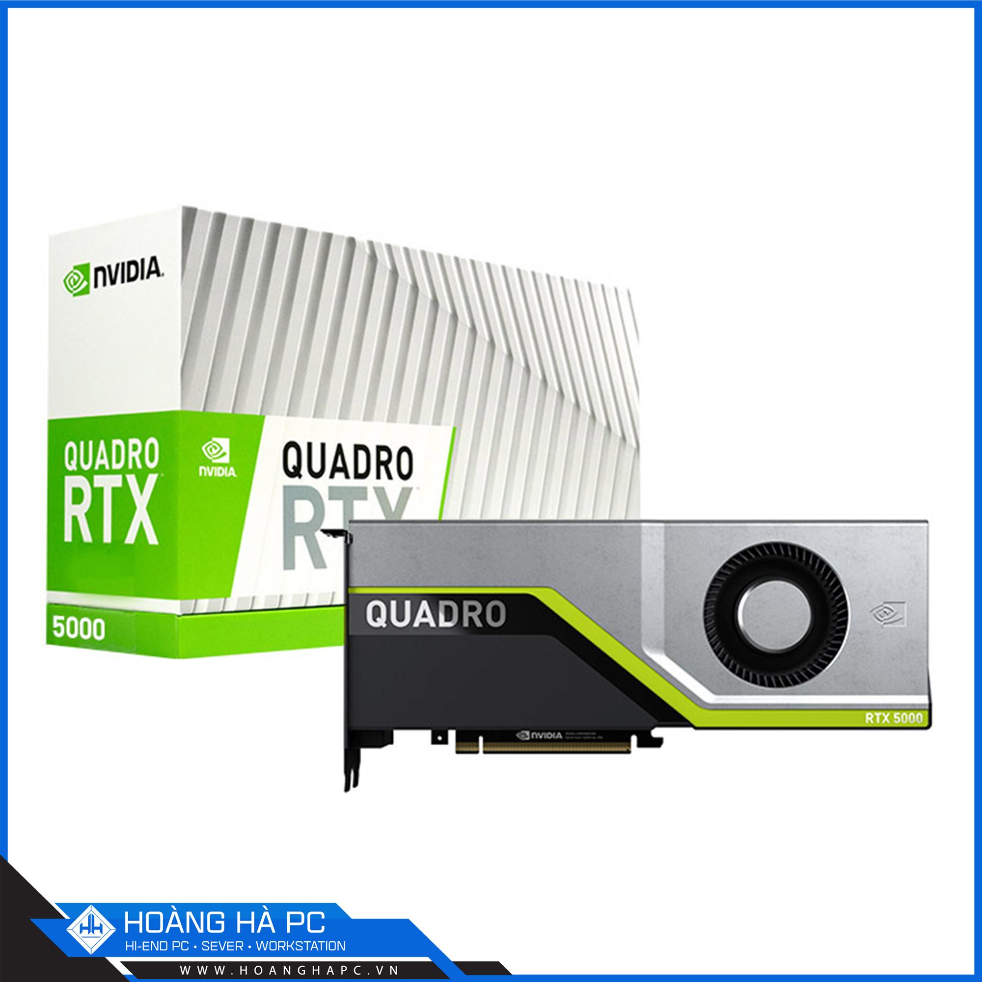 NVIDIA QUADRO RTX 5000 16G