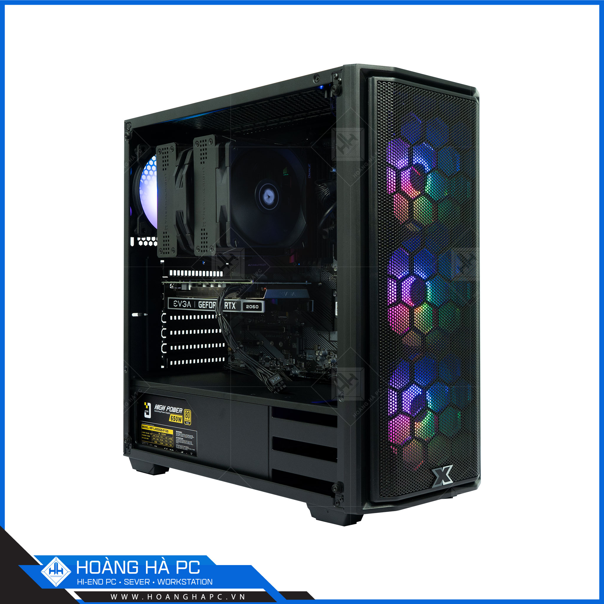 HH WORKSTATION CORE i7 10700 | 32G | NVIDIA RTX 3060Ti 8GB