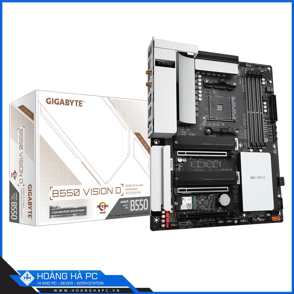 Mainboard Gigabyte B550 VISION D