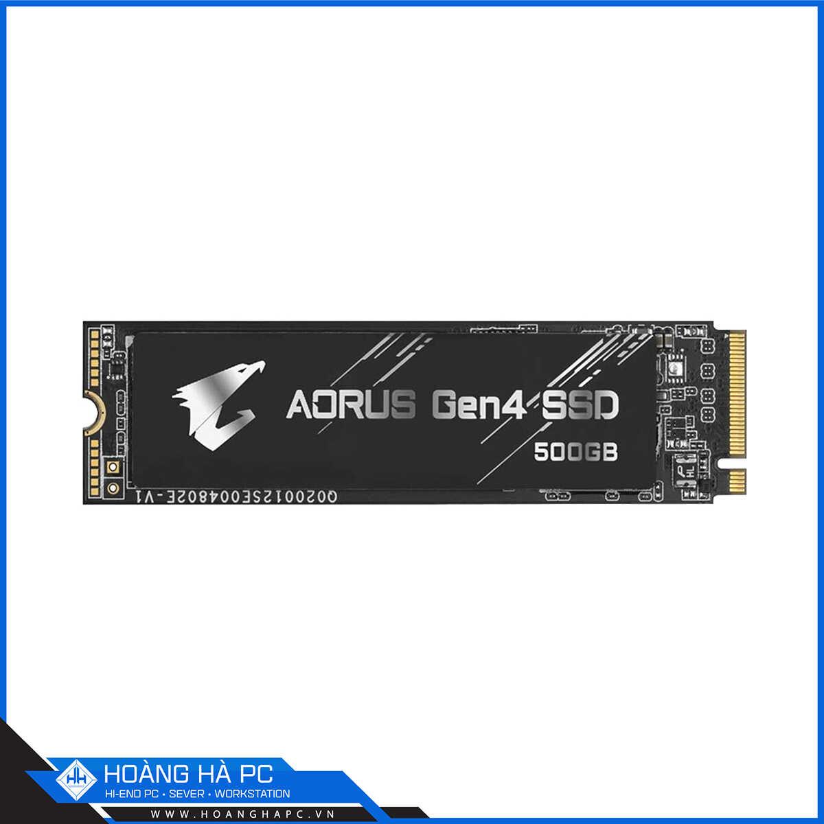 Gigabyte Aorus 500GB M.2 2280 PCIe NVMe Gen 4x4