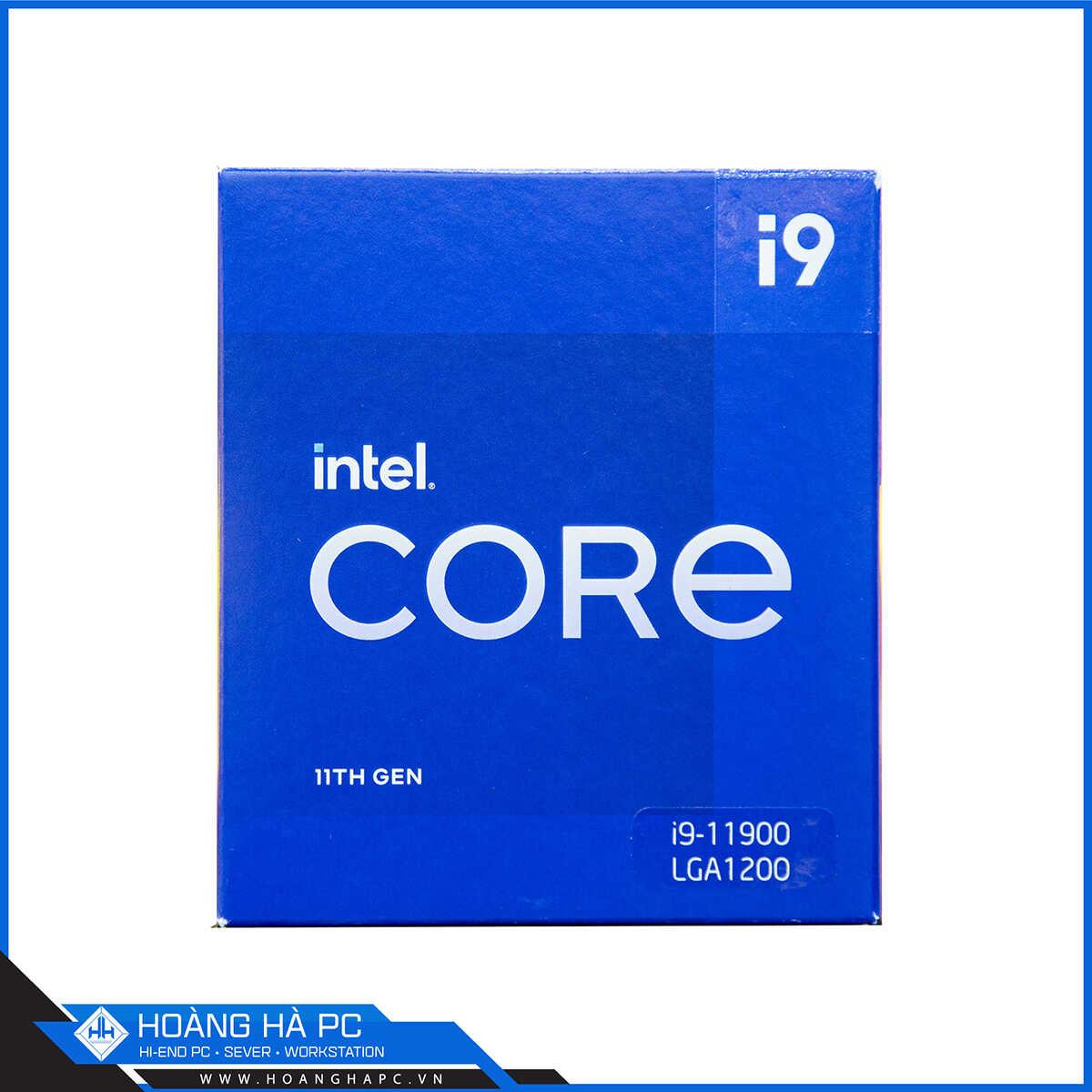 CPU Intel Core i9-11900