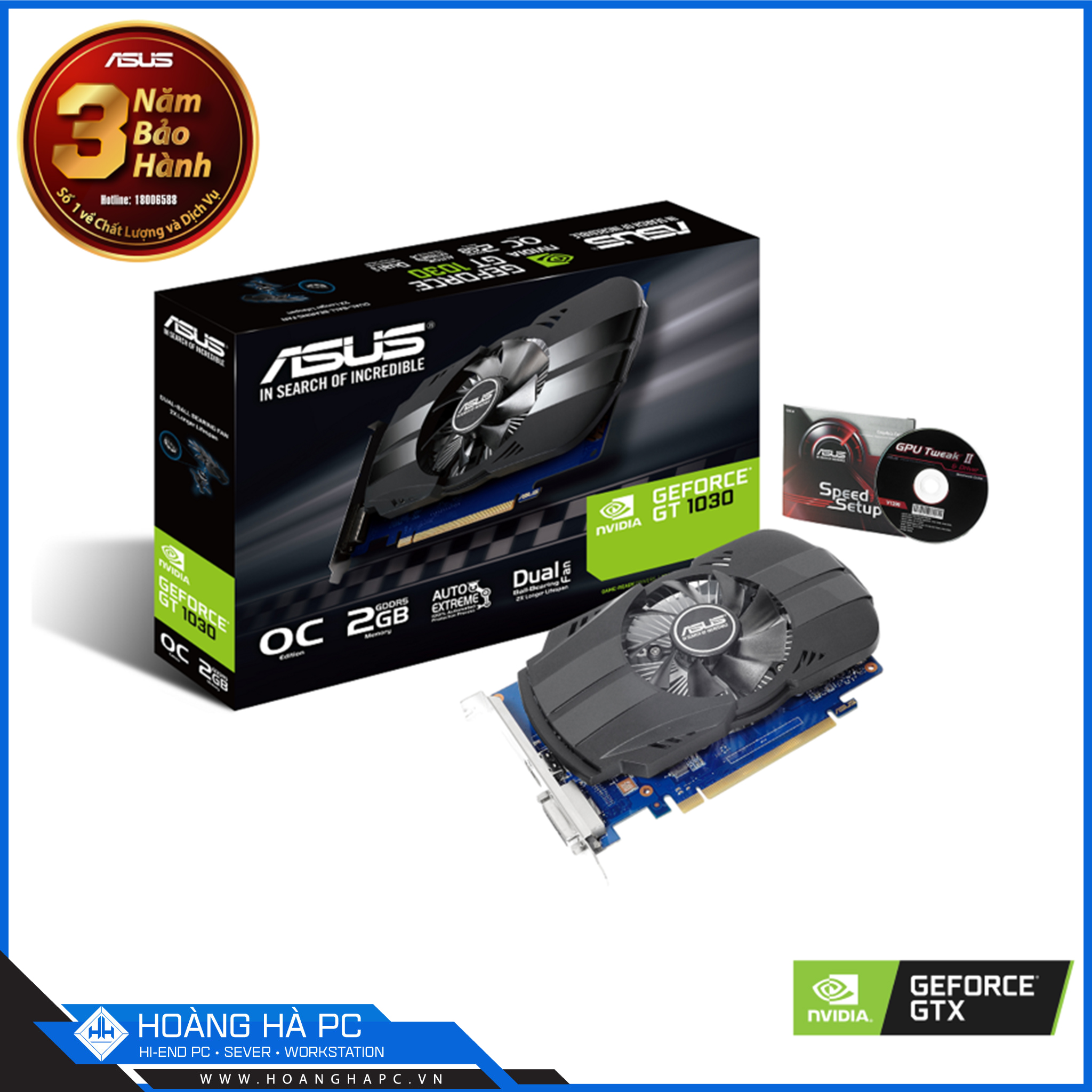 NVIDIA GEFORCE GT 1030 2GB GDDR5