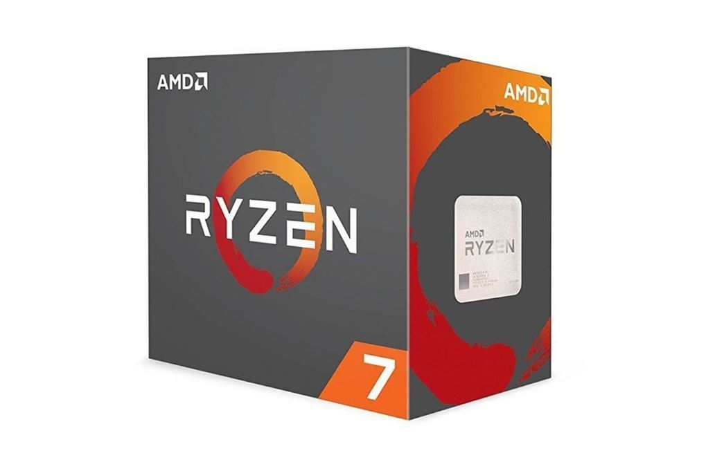 CPU AMD Ryzen 7 1700 3.0 GHz (3.7 GHz Turbo) / 20MB / 8 cores 16 threads / socket AM4
