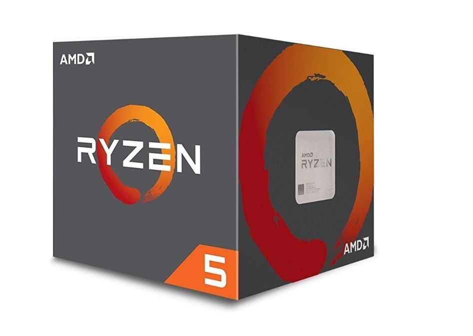 CPU AMD Ryzen 5 1600  3.2 GHz (Up To 3.6 GHz) / 16MB / 6 cores 12 threads / socket AM4