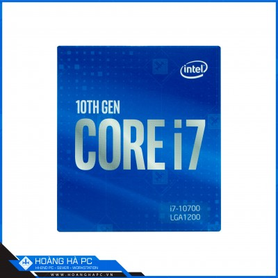 CPU Intel Core i7-10700 (2.90 GHz up to 4.80 GHz / 8C 16T / 16M Cache, Comet Lake-S)