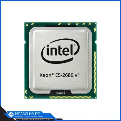 CPU INTEL XEON  E5-2680 (2.7GHz Turbo Up To 3.5GHz, 8 nhân 16 luồng, 20MB Cache, LGA 2011)