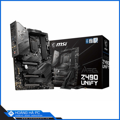 Mainboard MSI MEG Z490 UNIFY (Intel Z490, Socket 1200, ATX, 4 khe RAM DDR4)