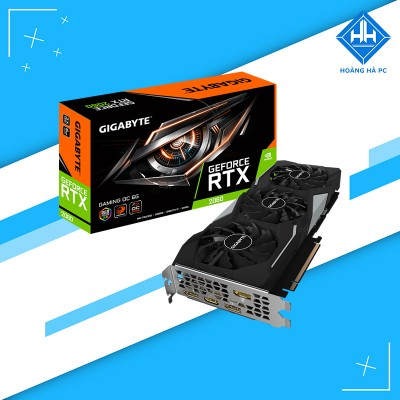 VGA Gigabyte GeForce RTX 2060 WINDFORCE OC 6G (GV-N2060WF2OC-6GD)