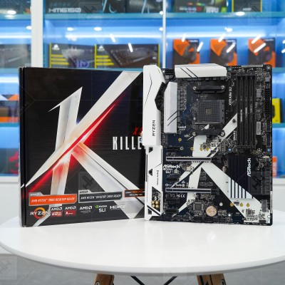 Mainboard Asrock X370 Killer SLI (AMD X370, Socket AM4, ATX, 4 Khe Cắm Ram DDR4)