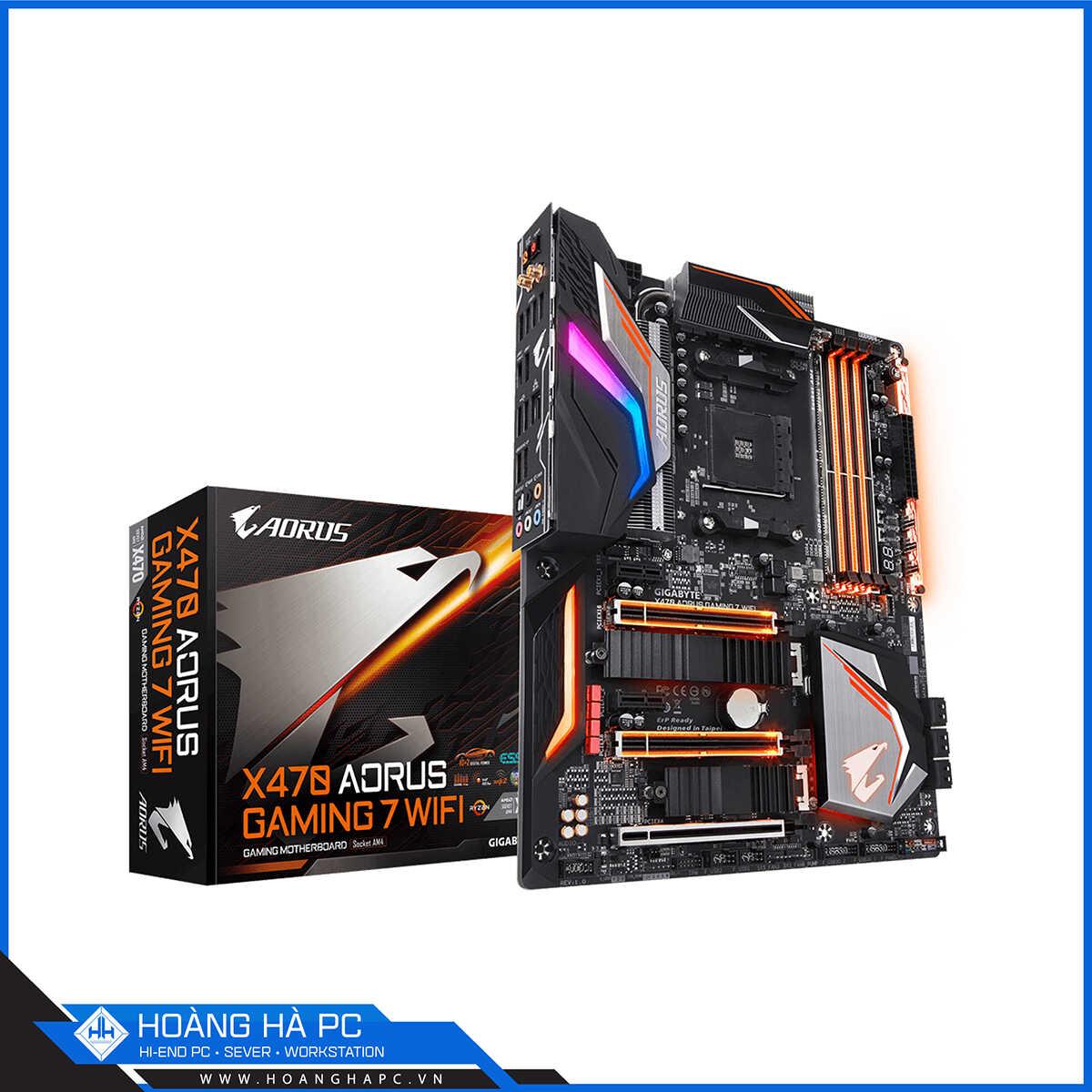 Hoàng Hà PC - Đơn vị cung cấp Mainboard AMD X470 chính hãng
