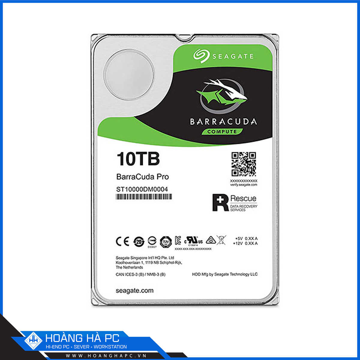 Ổ Cứng HDD Seagate Barracuda Pro 10TB