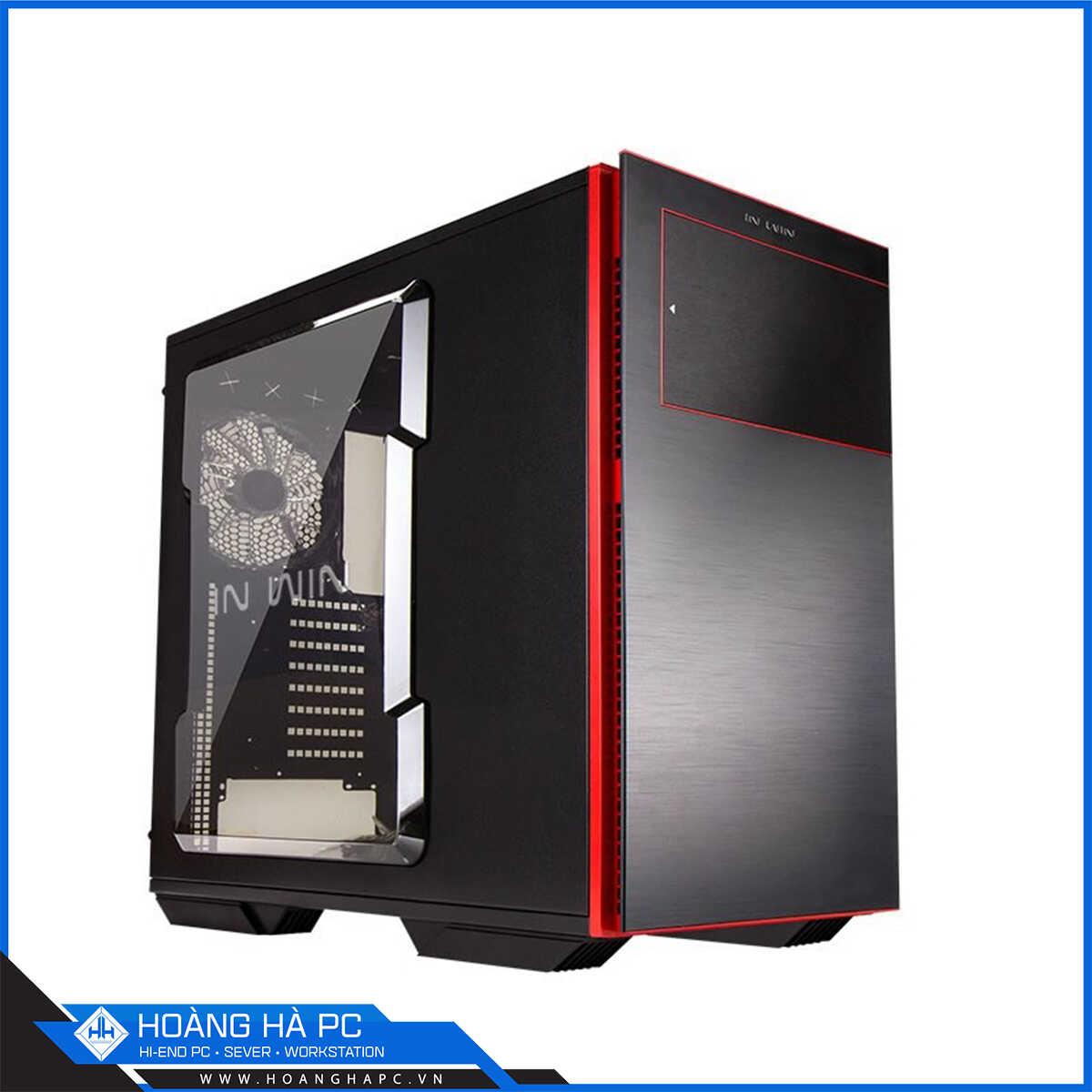 Case IN WIN 707 Black/Red