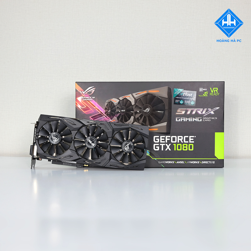 VGA ASUS ROG Strix GeForce GTX 1080 OC 8GB 11Gbps
