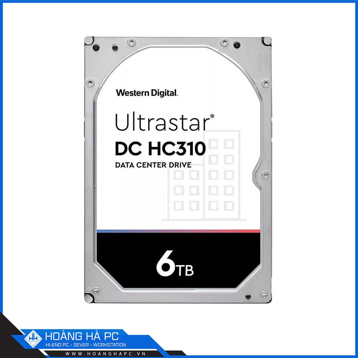 Ổ Cứng HDD Western Enterprise Ultrastar DC HC310 6TB