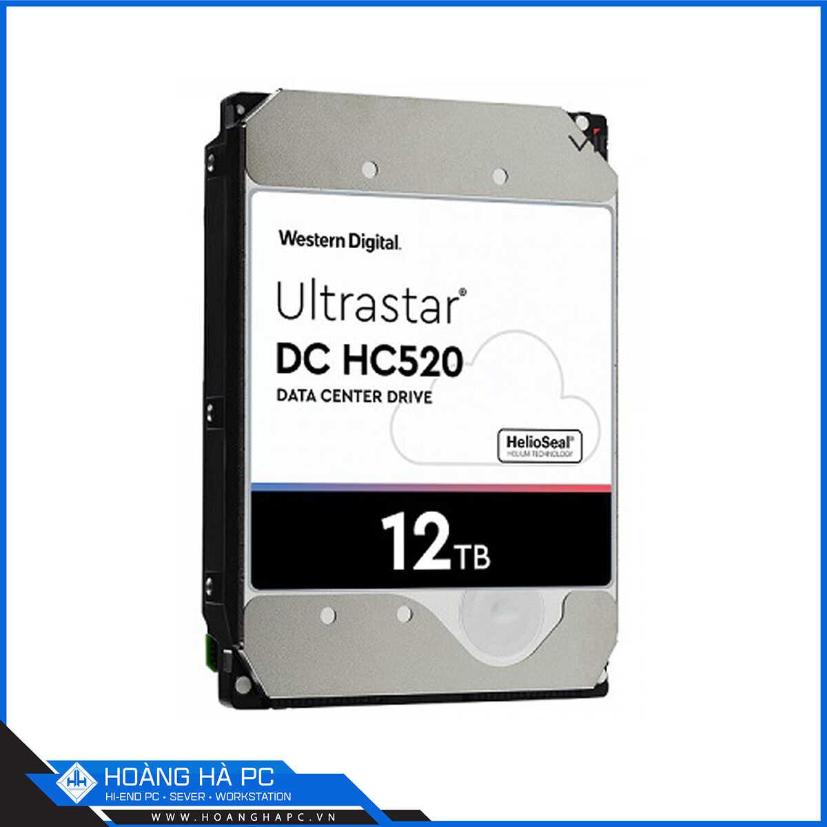 Ổ Cứng HDD Western Enterprise Ultrastar DC HA520 12TB
