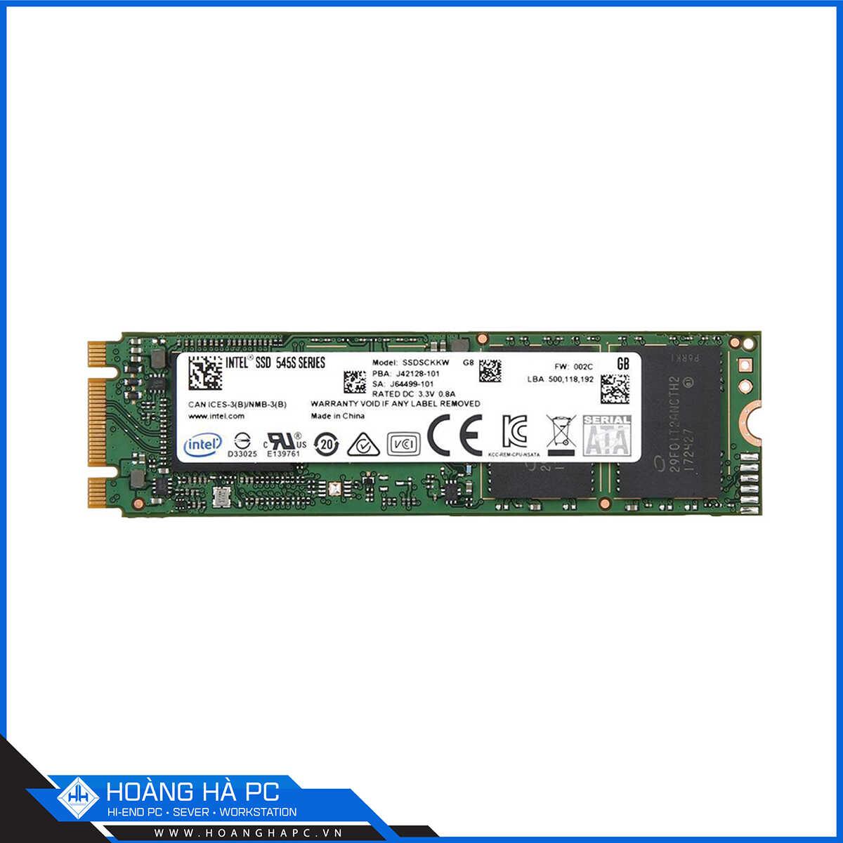 Ổ Cứng SSD Intel 545s 256GB
