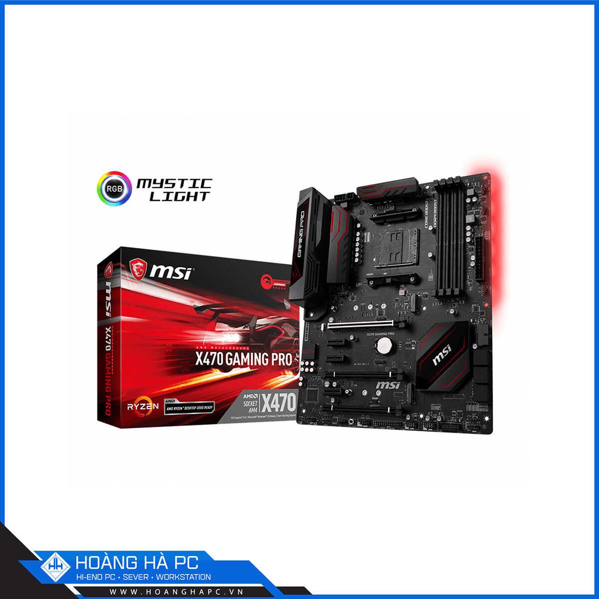 Mainboard AMD X470 có ưu điểm vượt trội so với các dòng cũ