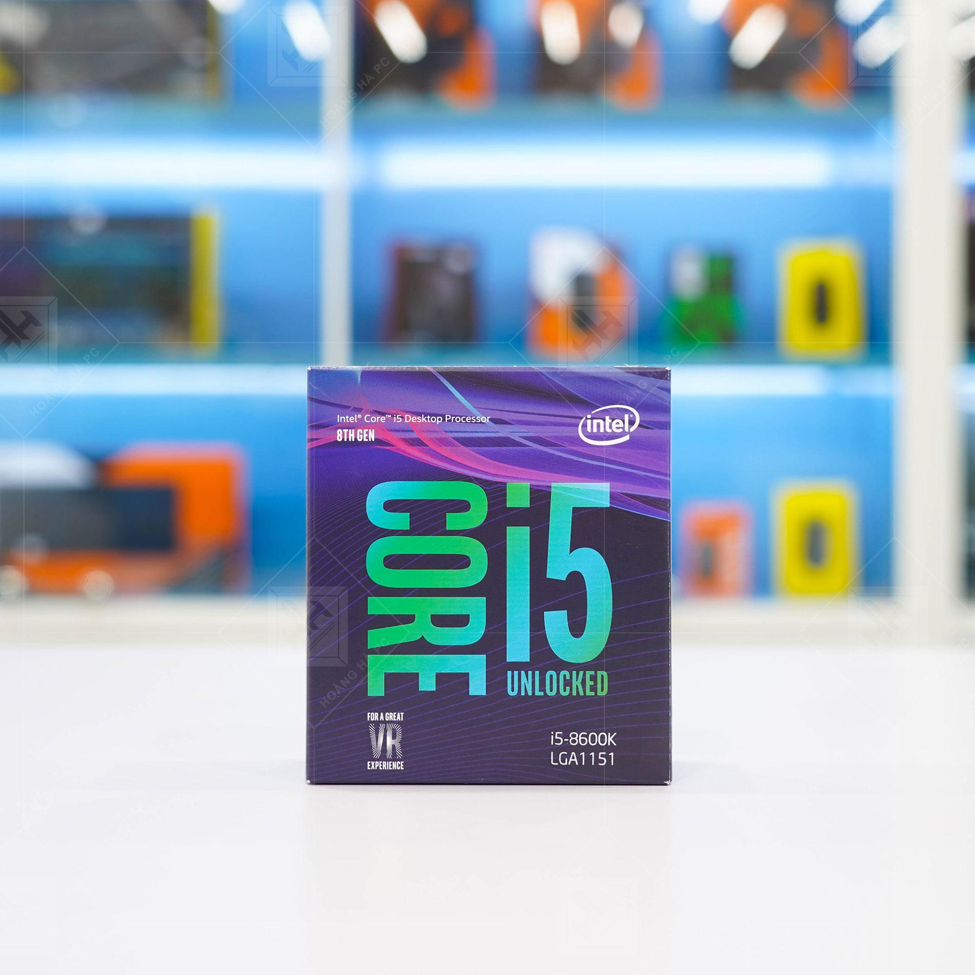 CPU Intel Core i5-8600K