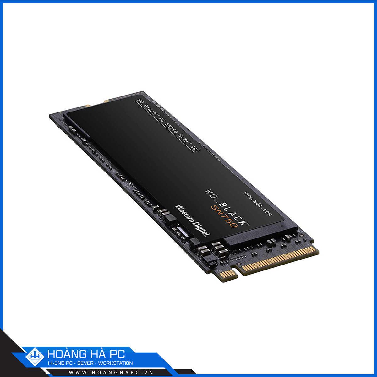 Ổ Cứng SSD Western Digital Black SN750 250GB M.2 2280 PCIe NVMe 3x4