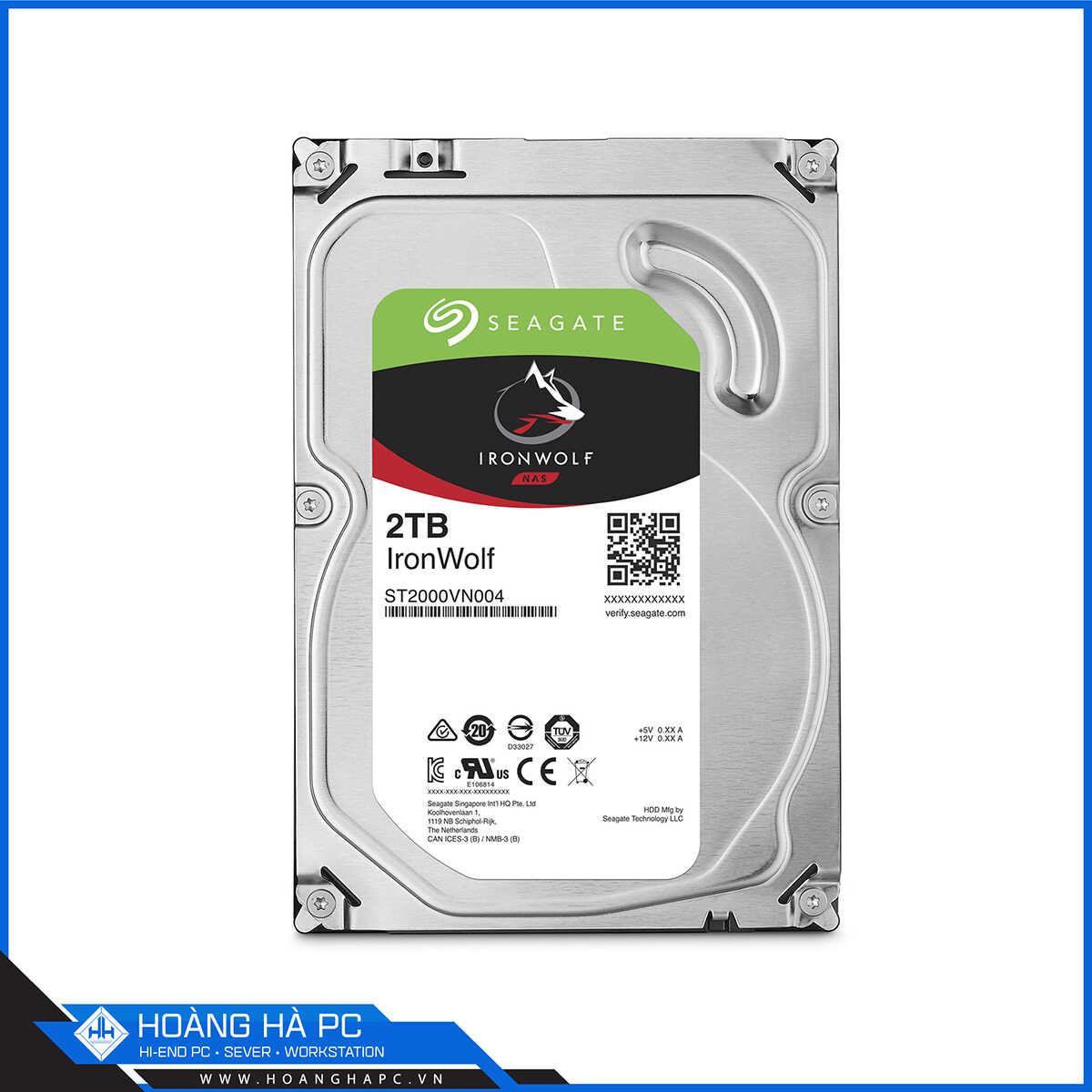 Ổ cứng HDD Seagate Ironwolf 2TB