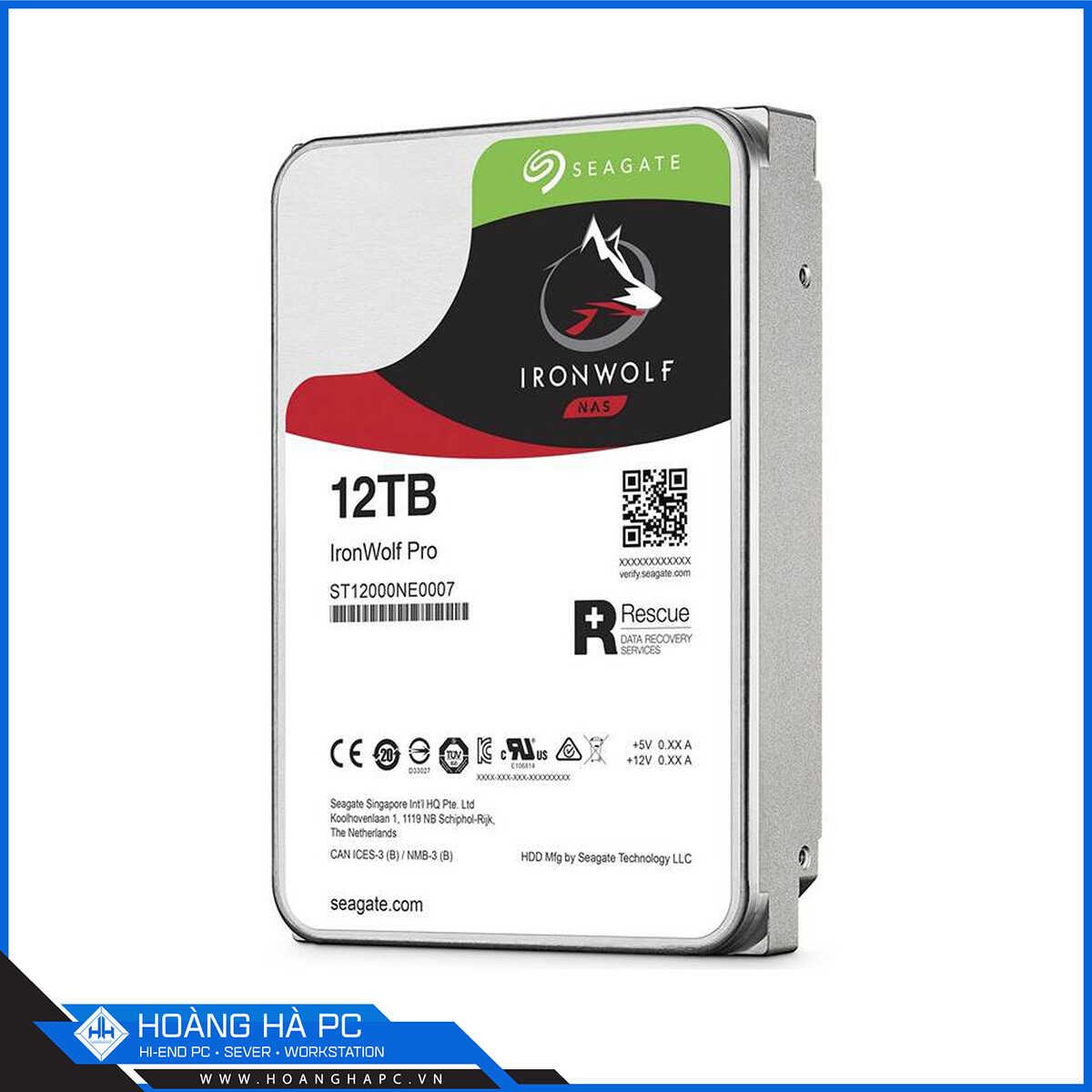 sản phẩm IronWolf Pro 12TB