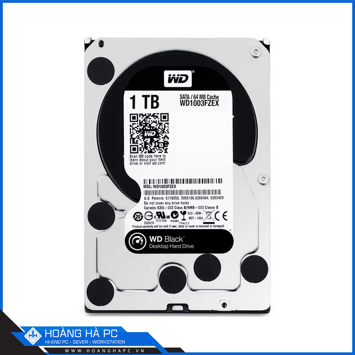 HDD Western Black 1TB