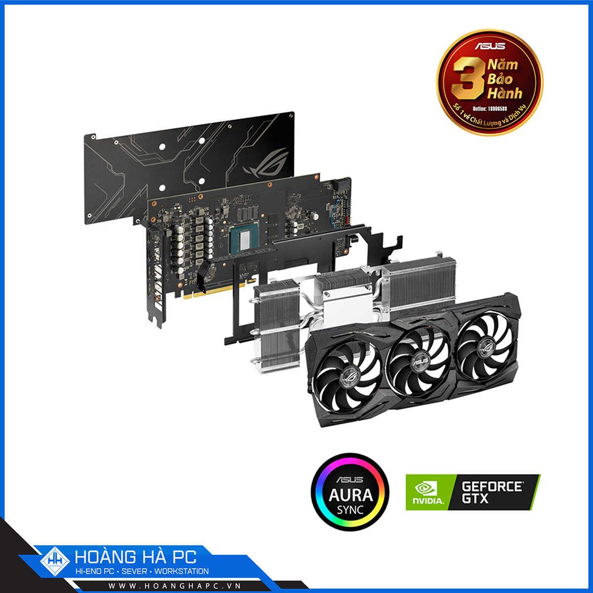 VGA Asus ROG STRIX GTX 1660 TI 6G GAMING