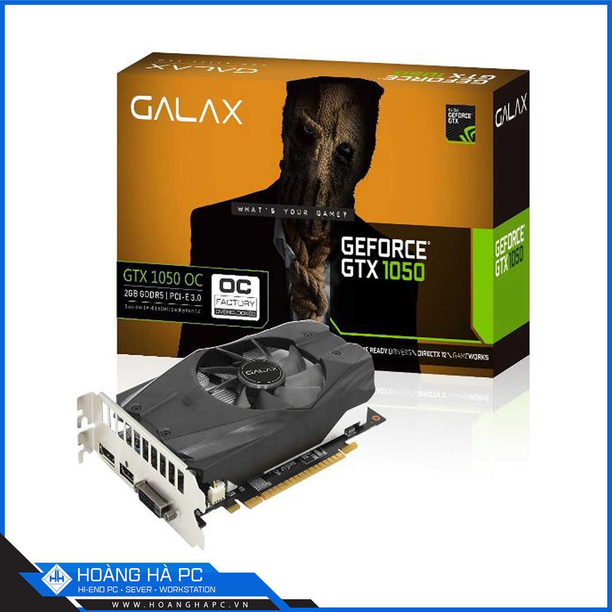 VGA Galax GeForce GTX 1050 OC 2G