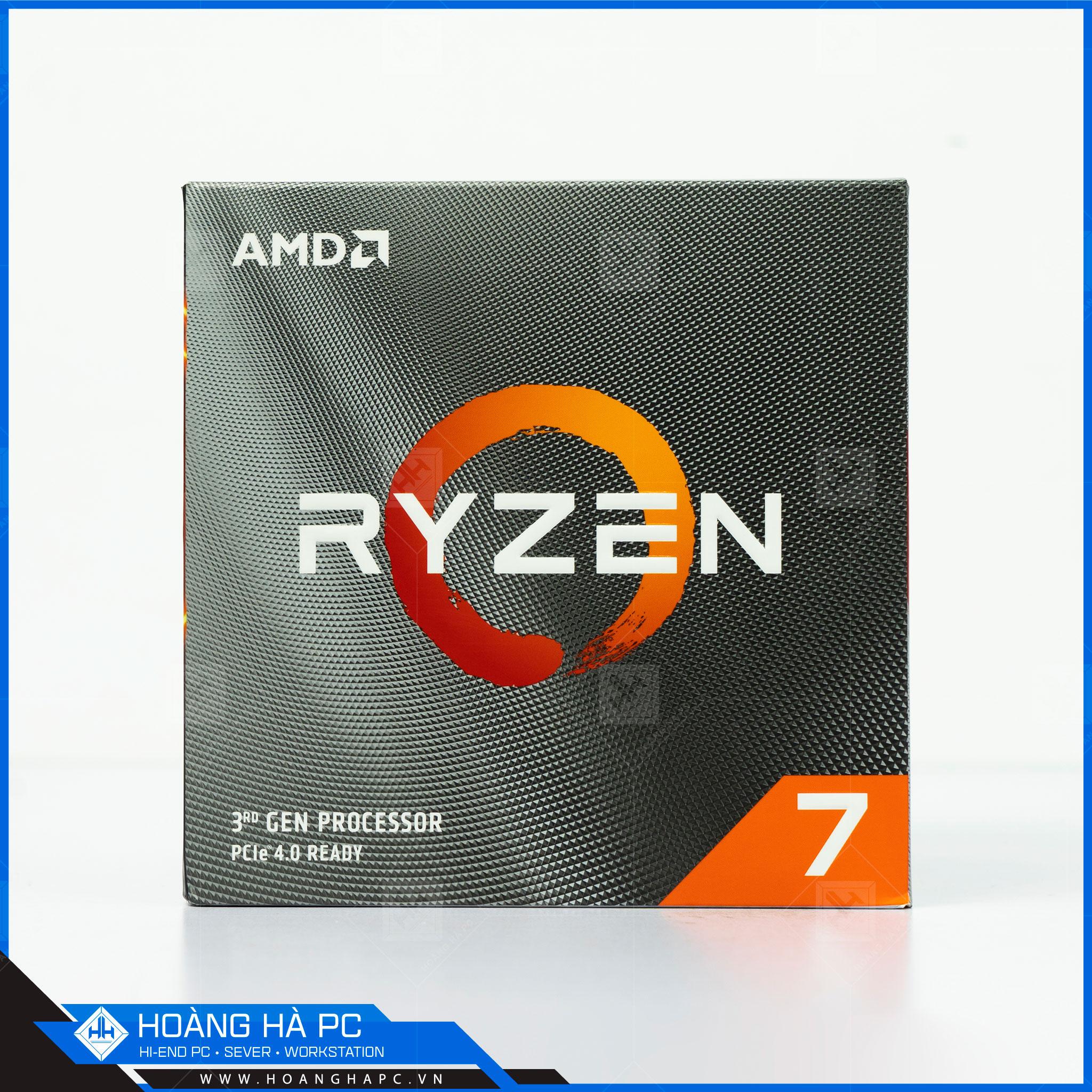 CPU AMD Ryzen 7 được sản xuất với tiến trình 12nm mang lại hiệu năng cao hơn