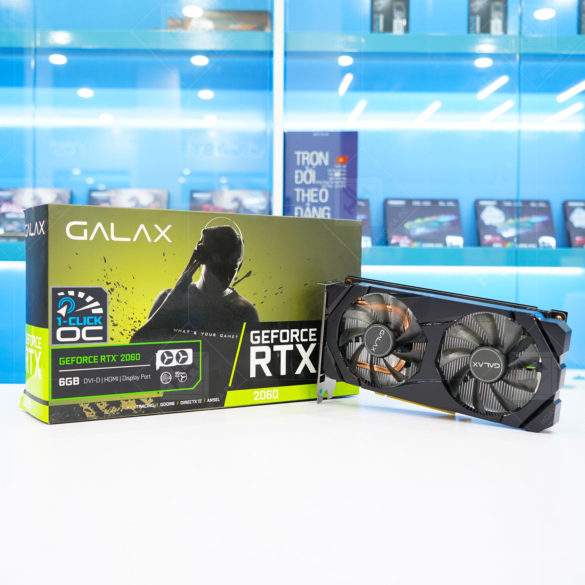 Galax RTX 2060 1 Click OC 6G Black
