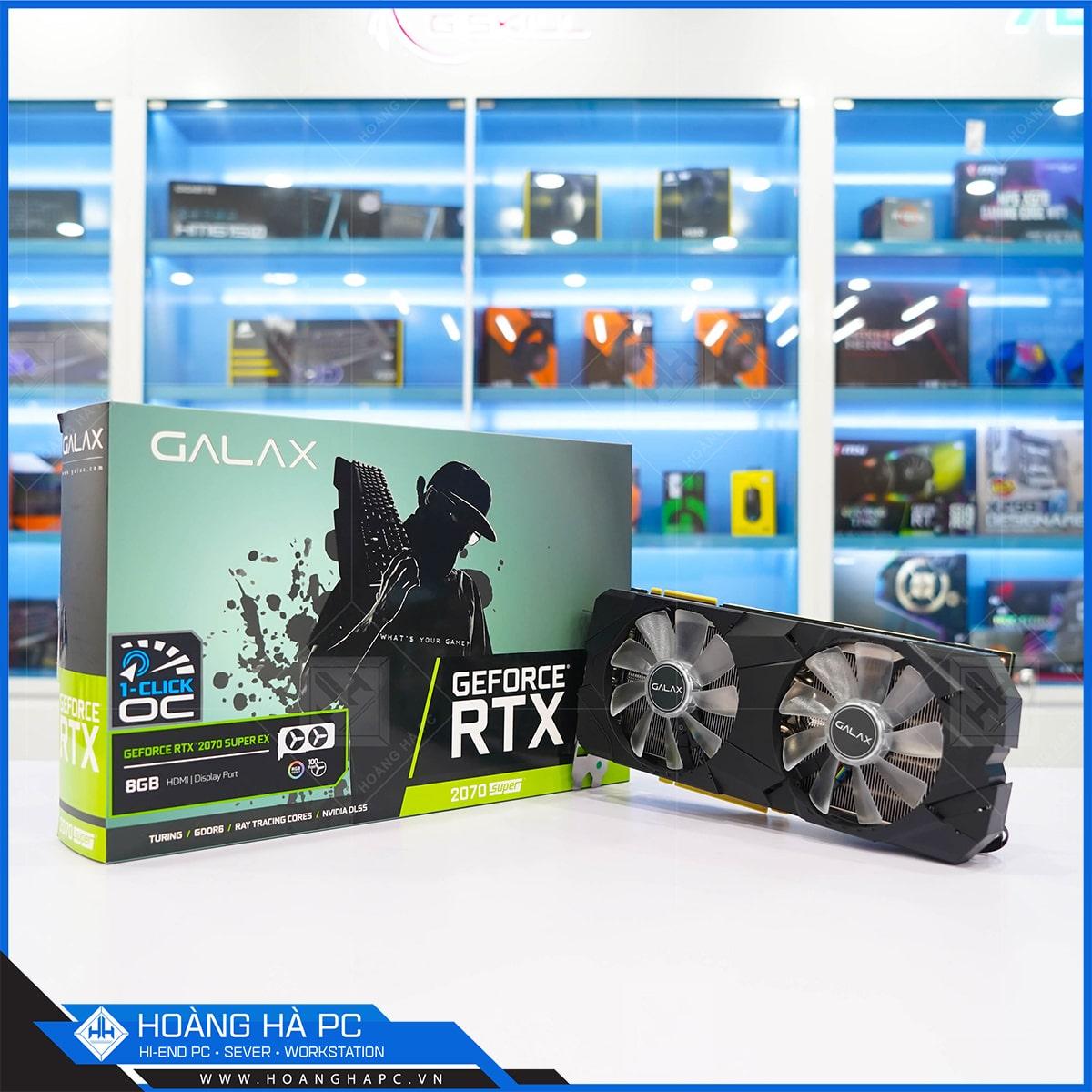 Galax RTX 2070 Super (1 Click OC) 8G Black