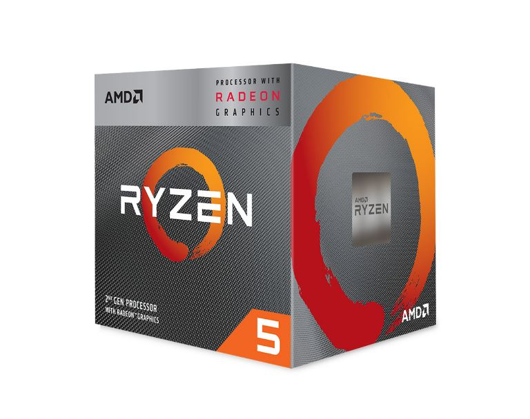 CPU AMD Ryzen 5 3400G (3.7- 4.2 GHz/AM4)