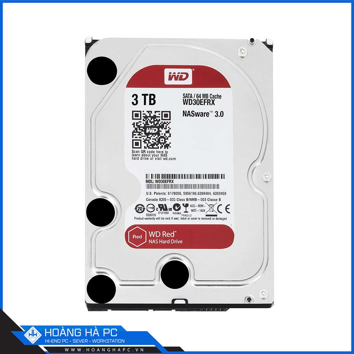 ổ cứng HDD Western Digital Red 3TB