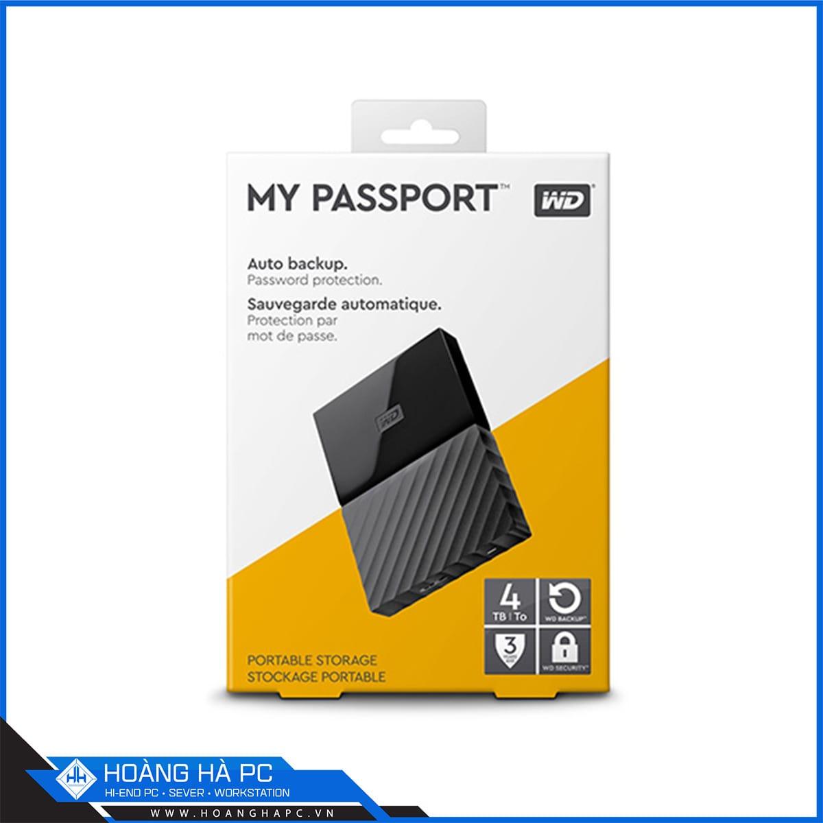 Western Digital My Passport 4TB